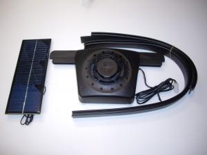 Solar Fan Install