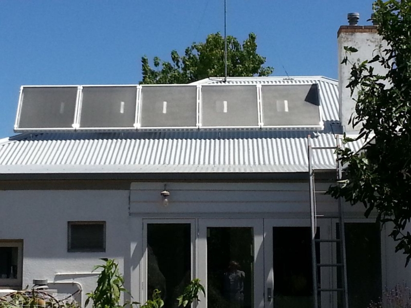 5 Sam Unit Colour Bond Roof Archives Solar Heating Roof