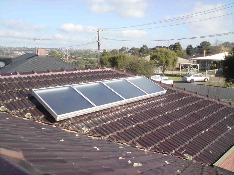 Sam 4 Mounted Directly On Roof Archives Solar Heating