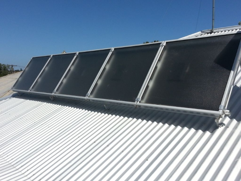 GES – Solar Cooling, Solar Heating, Ground Cooling System