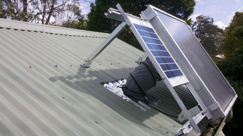 Pv Panel On Colourbond Roof Archives Solar Heating Roof