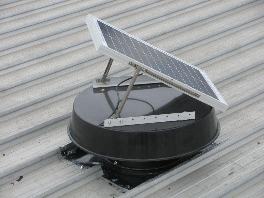 Solar Powered Fans  -20 times more efficient