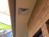 Eave Vent for Solar Fan