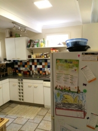 Solar Skylights in Kitchen After