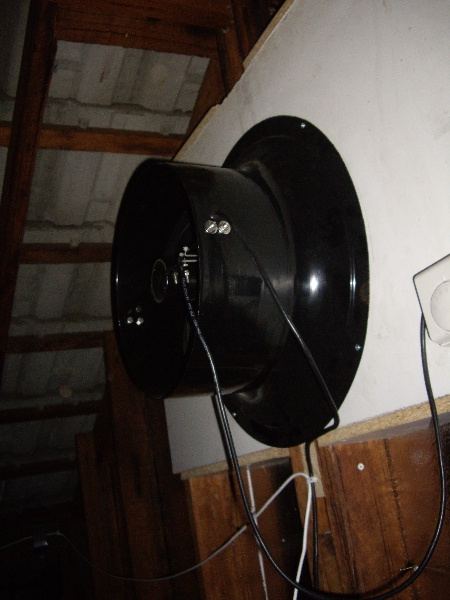 Solar Ventilation extractor fan for effective roof space ventilation