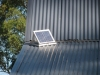 PV panel for solar extractor fan for roof ventilation