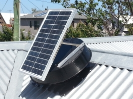Solar Exhaust fans & roof ventilators - effective extractor fans