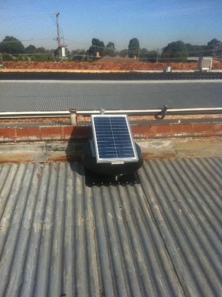 Solar Exhaust Fans / Roof Ventilators / Extractor fans