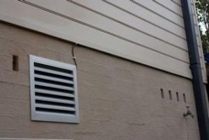 Vent for under-floor ventilation system