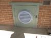 Fan cover for Solar Sub-floor Ventilation fan