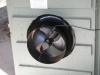 Solar Sub-Floor Ventilation fan mounted in door - inside-view
