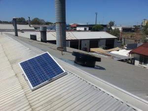 SWC installation tin roof