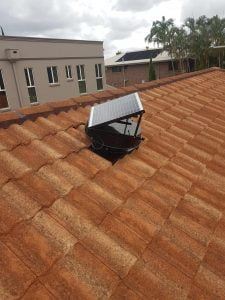 red tile roof install