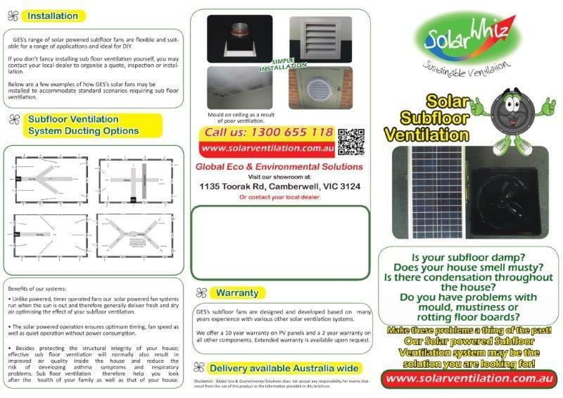 Sub-floor brochure