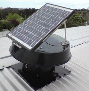 Solar Whiz tin roof